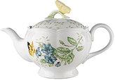 Lenox Butterfly Meadow Floral Porcelain Teapot