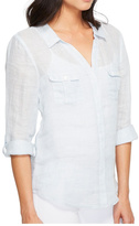 Joie Linen Button Down Top
