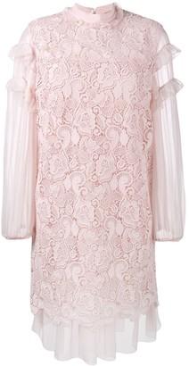 No.21 Ruffled Embroidery Dress