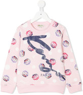 Kenzo printed sweatshirt - kids - Cotton - 2 yrs