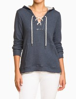 Splendid Active Lace Up Hoodie
