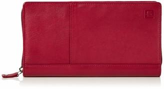 Le Tanneur Women's TOTT3C00 Clutch Red Red (GRENAT R05)