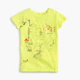 J.Crew Girls' garment-dyed graphic T-shirt