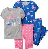Carter's Blue 4-pc. Pajama Set - Baby Girl newborn-24m