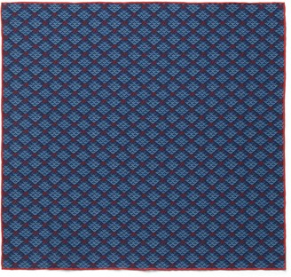 Gucci GG diamond print silk pocket square
