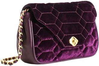 Aimee Kestenberg Velvet Crossbody Handbag - Cleopatra