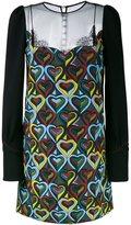 Mary Katrantzou snowmanship 'Way' dress - women - Silk/Polyamide/Polyester/Viscose - 10