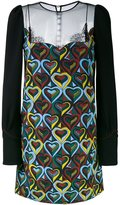 Mary Katrantzou snowmanship 'Way' dress - women - Silk/Polyamide/Polyester/Viscose - 8