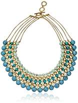 "Carolee The Blue Line"" The Blue Line Dramatic Multi-Row Necklace, 16""+ 3"" Extender"