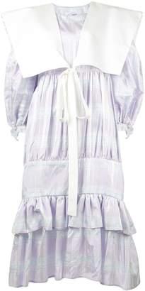 Vaquera tiered ruffle dress