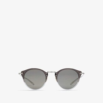 Oliver Peoples OP-505 Sun (Vintage Grey Fade/Silver/Grey Gold Tone) Fashion Sunglasses