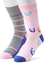 Men's Funky Socks 2-pack Horse Power Derby Socks