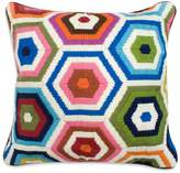 Jonathan Adler Bargello Honeycomb Pillow, 18 x 18