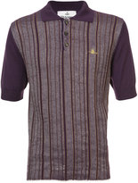 Vivienne Westwood Man striped polo shirt