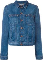 Diesel - veste en jean boutonnée -