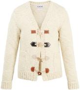 Loewe V-neck wool cardigan