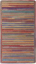 Capel Area Rug, American Legacy Rectangle Braid 0210-950 Primary Multi 3' x 5'