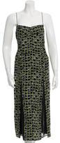Piamita Silk Printed Dress w/ Tags