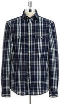 Strellson Dean Plaid Button-Front Shirt