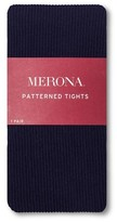 Merona Women's Patterned Tights 2X