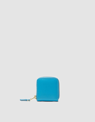 Comme des Garcons Women's Classic Leather Line SA4100 Wallet in Blue
