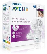 Philips Natural Comfort Manual Breast Pump BPA Free Brand New Scf330/20 Best Quality Original From United Kingdom Fast Shipping