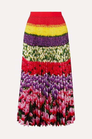 e5edf57350 Knife Pleat Print Skirts - ShopStyle