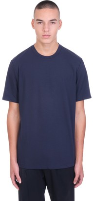 Theory T-shirt In Blue Cotton