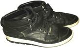 Christian Dior Oblique Black Leather Boots