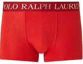 Polo Ralph Lauren Embroidered Waistband Trunks, Red