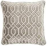 Eichholtz Trellis Cushion Grey Velvet 60x60cm