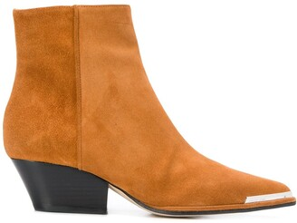 Sergio Rossi Carla Cowboy style ankle boots