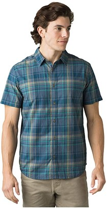 Prana Offwidth Shirt (Nickel) Men's Clothing