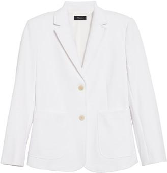 Theory Shrunken Slim Fit Jacket
