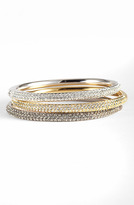 Nadri 'Pave Bombe' Hinged Bangle