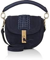 Altuzarra Women's Ghianda Mini Suede Saddle Bag
