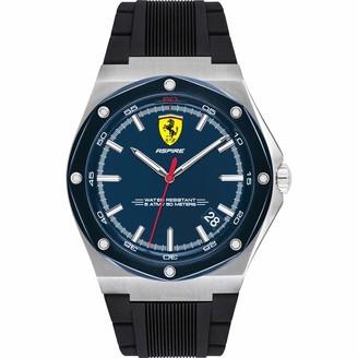 Scuderia Ferrari Men's Analogue Quartz Watch with Silicone Strap 0830605