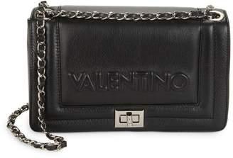 Mario Valentino Alice Sauvage Leather Chain Strap Crossbody