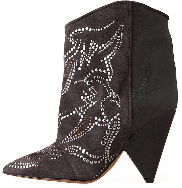 Isabel Marant Memphis Studded Short Boot