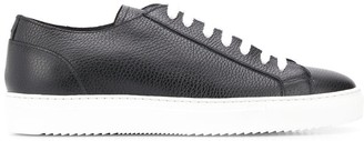 Doucal's textured lace-up sneakers