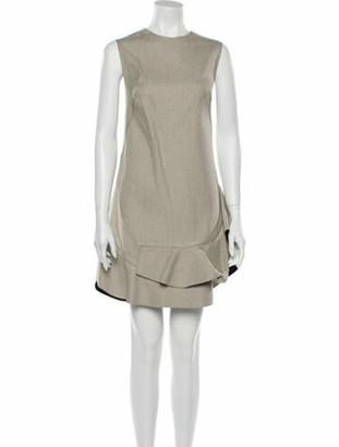 3.1 Phillip Lim Crew Neck Mini Dress w/ Tags White