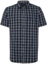 Jack Wolfskin Men's Hot springs short sleeve check shirt