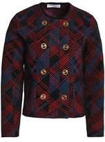 Sonia Rykiel Checked Bouclé Jacket
