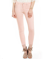 Jessica Simpson Kiss Me Low-Rise Release-Hem Ankle Skinny Jeans
