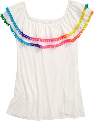 Heart And Harmony Pompom Cover-Up Dress