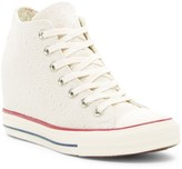 Converse Chuck Taylor(R) Hidden Wedge High Top Sneaker (Women)