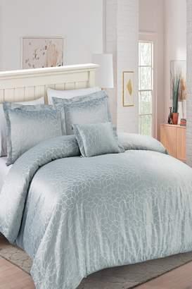 California Design Den Full/Queen Enchanted Gardens Comforter Set - Light Gray