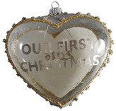 Nordstrom 'Our First Christmas' Handblown Glass Ornament