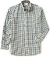 Beretta Non-Iron Drip-Dry Classic Plaid Long-Sleeve Shirt