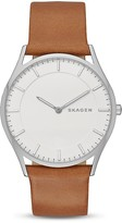 Skagen Holst Leather Watch, 40mm